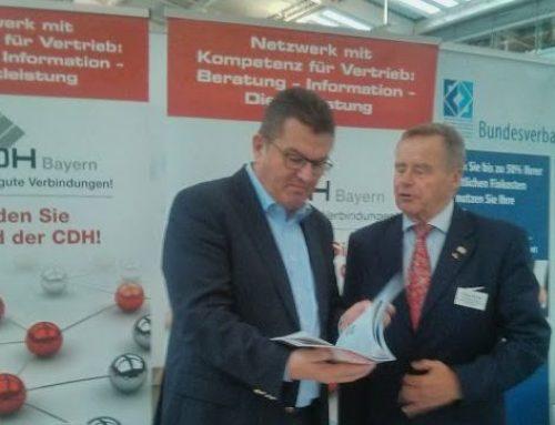 CDH Bayern auf der Existenzgründermesse der IHK München – Oberbayern