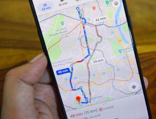 Neue Funktionen bei Google Maps