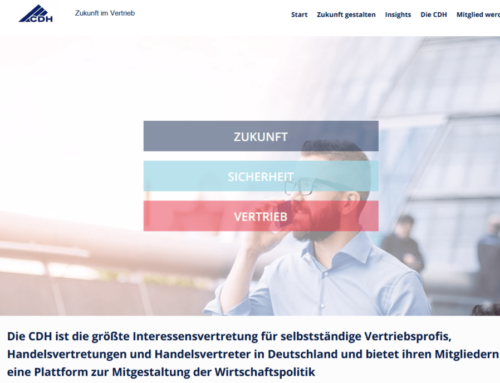 Zukunft im Vertrieb – LinkedIn Kampagne der CDH gestartet